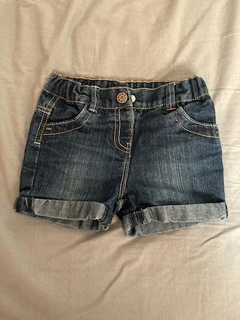 Short en jeans 18 mois