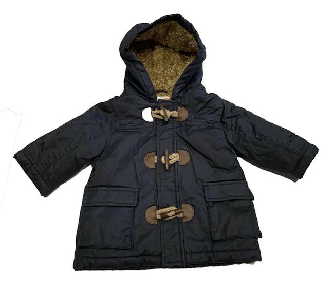 Manteau bleu 6 mois