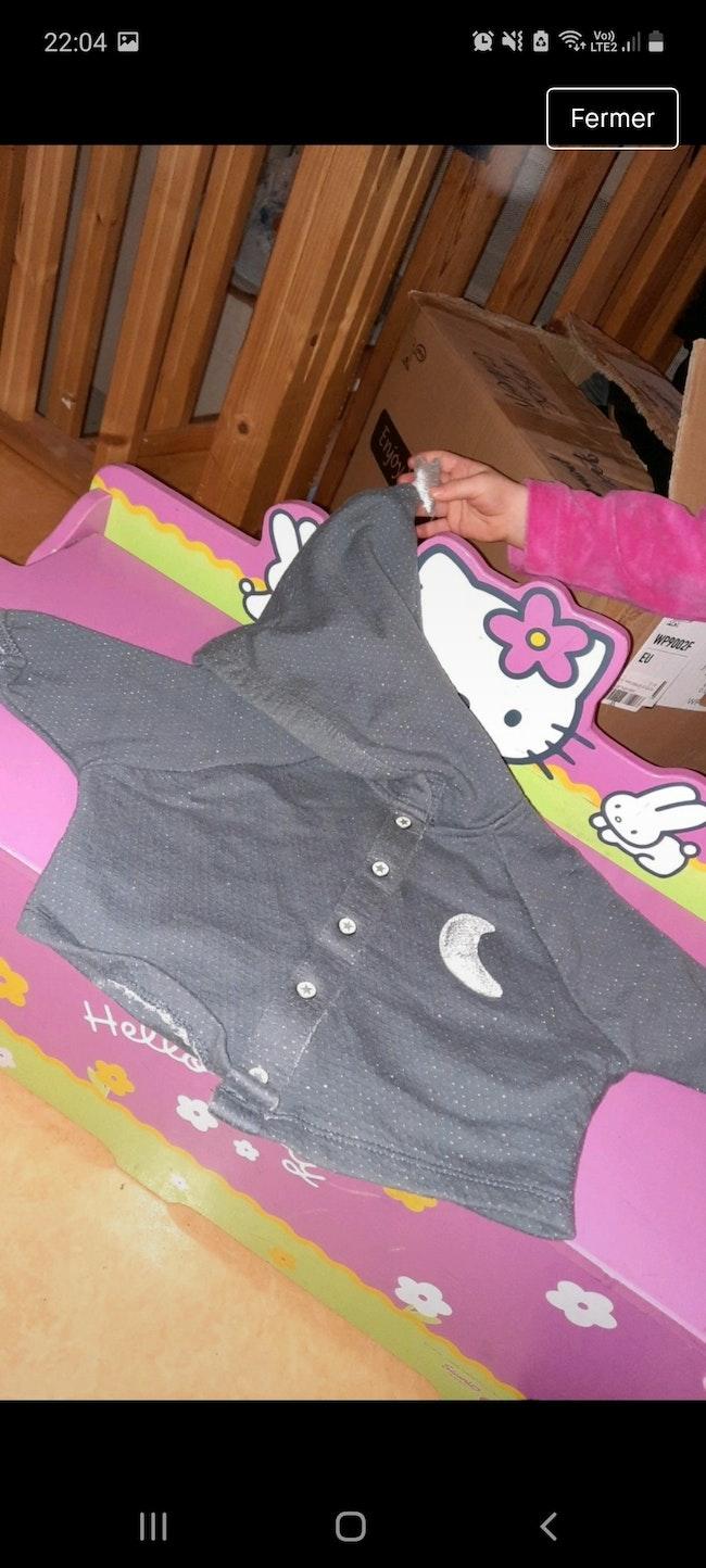 Veste bébé fille