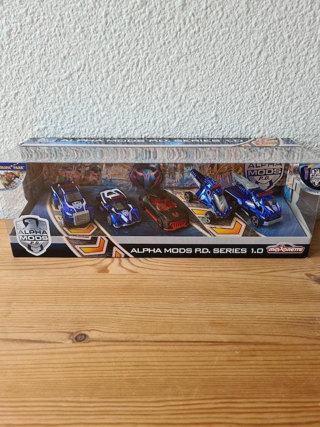voiture alpha mods rdv séries 1.0 majorette