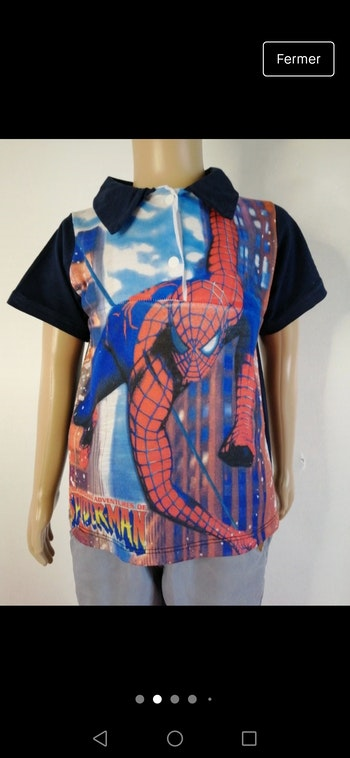 Polo Spiderman 5ans