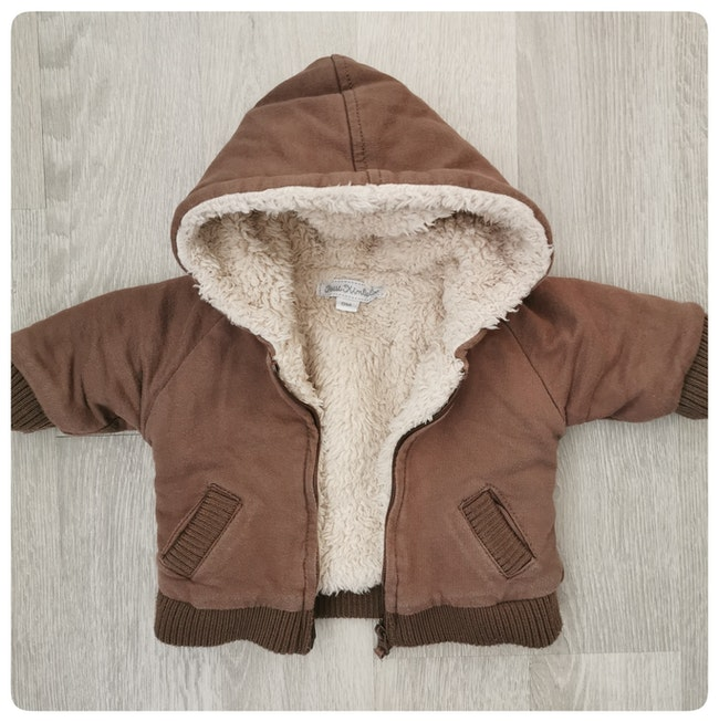 Manteau avec capuche Petit Kimbaloo