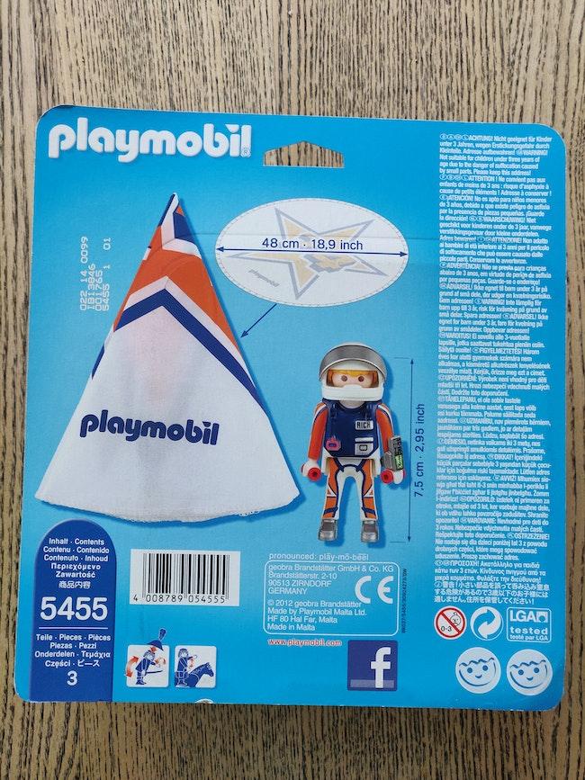 Playmobil parachutiste