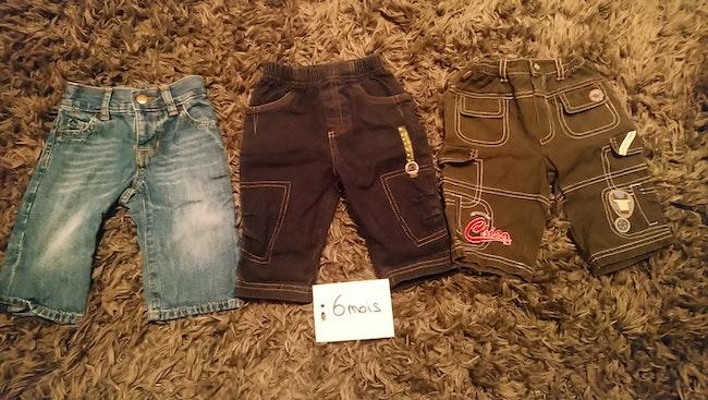 Lot 3 pantalons