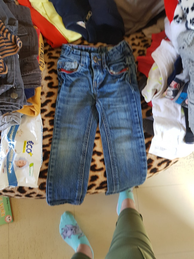 Jean taille 3 ans