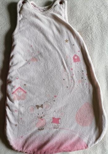 Gigoteuse / turbulette fille 0-6 mois souris