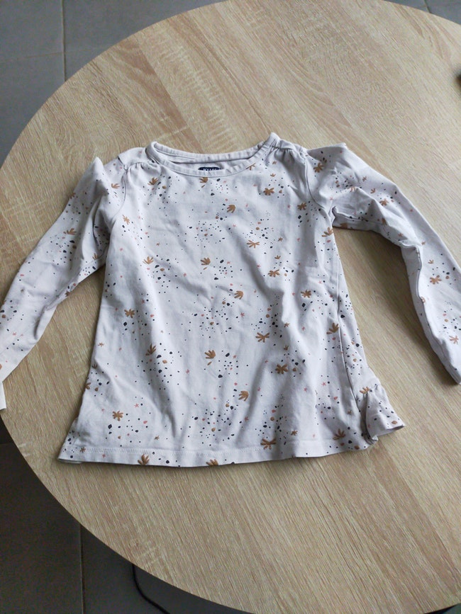 Tee shirt manches longues fille