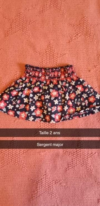 Jupe taille 2 ans