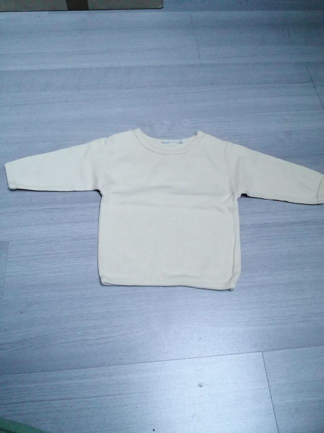 Tee shirt manches longues jaune 6mois