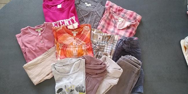 Lot de vêtements hiver fille 5 ans