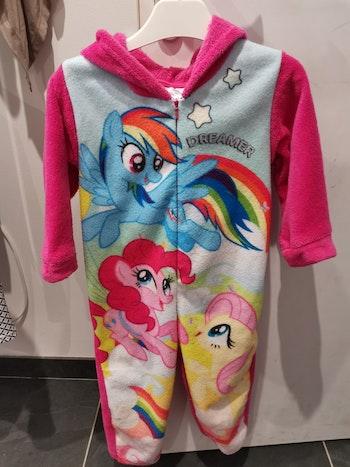 Sur pyjama my little poney 4ans