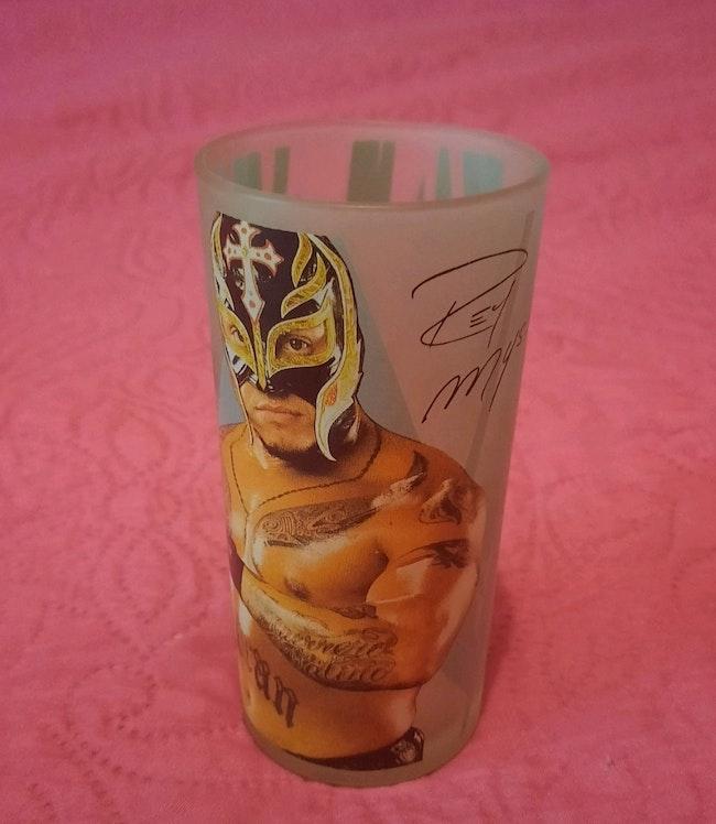 "Grand verre ""Rey Mysterio"""