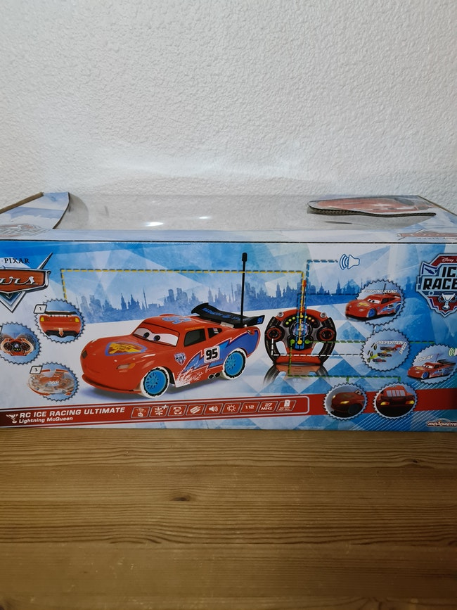 voiture cars rc ice racing ultimate 1:12 Disney