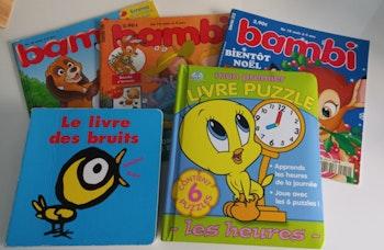 Lot de livres pour enfant