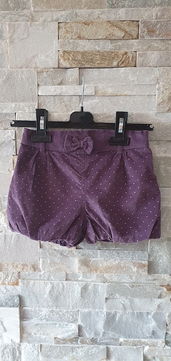 Short bloomer hiver violet 36mois 95cm  mes petits cailloux comme neuf
