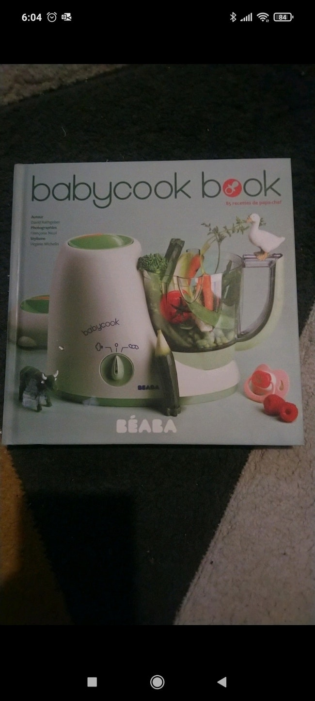 Livre de cuisine pour bébé