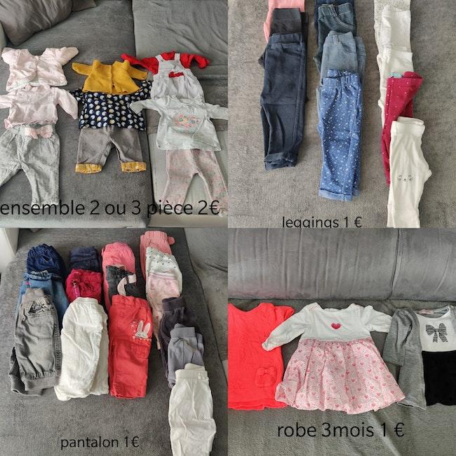 Vêtements bébé fille 3mois