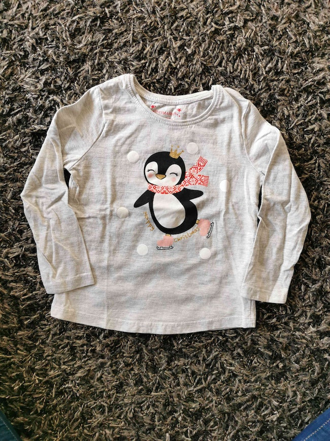 T-shirt manches longues 3-4ans neuf