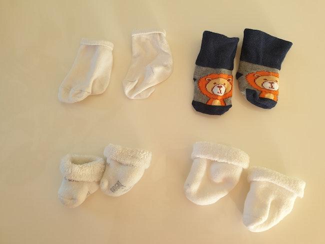 Lot chaussettes naissance