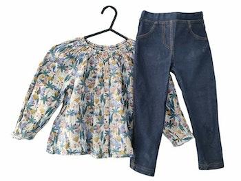 3 ans fille ensemble chemise et pantalon