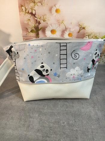 Trousse de toilette panda