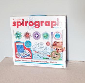 Jeu spirograph