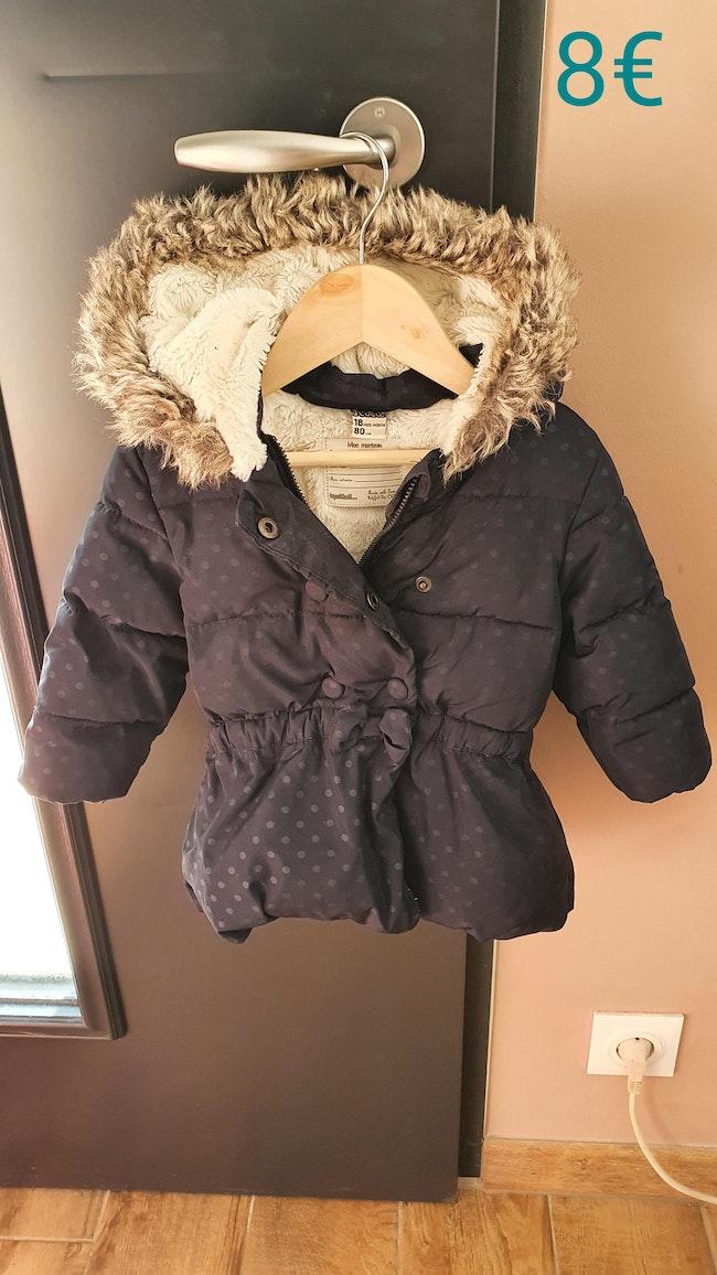 Manteau fourée 18mois
