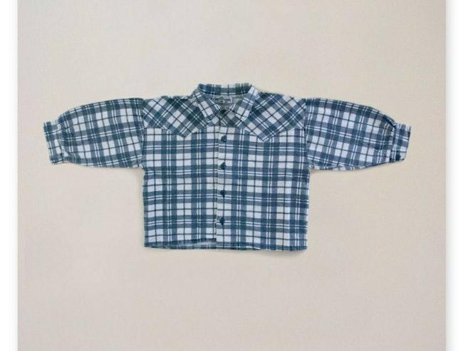 Chemise bucheron à carreaux / 5 ans