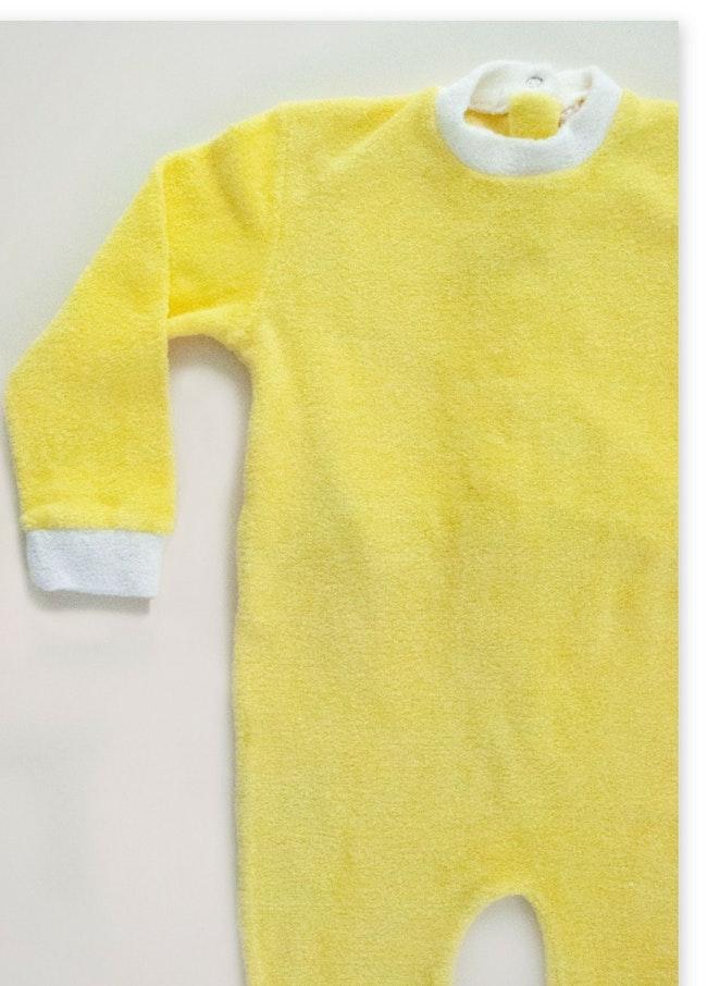 Pyjama éponge jaune poussin 18,00 €