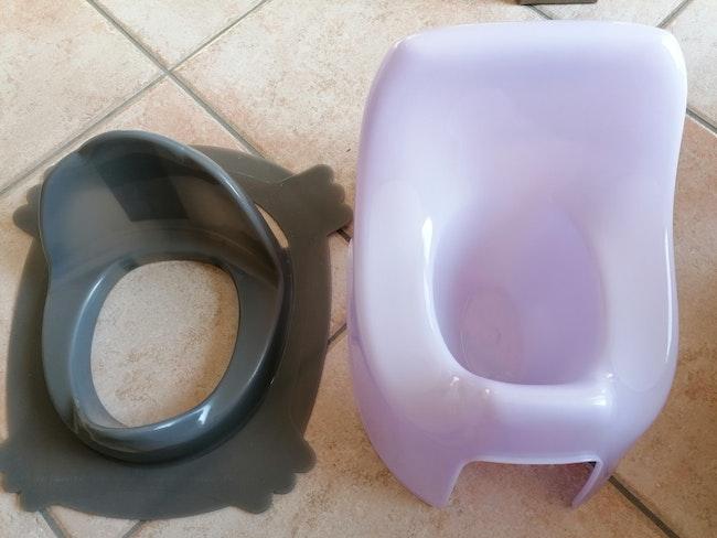Pot d'apprentissage de la propreté et réducteur de toilettes pour enfants
