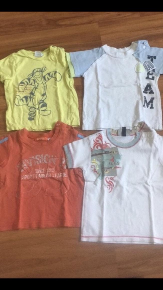 Lot t shirt 12 mois