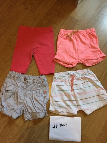 Shorts 18 mois