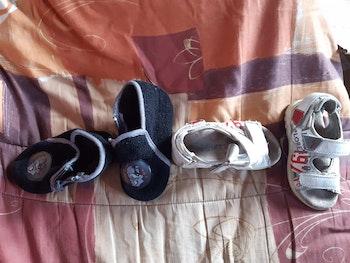 Lot chausson et sandale
