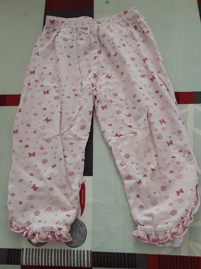 Pyjama  2 pièces rose 3 ans
