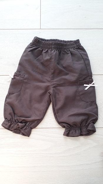 Pantalon doublé marron