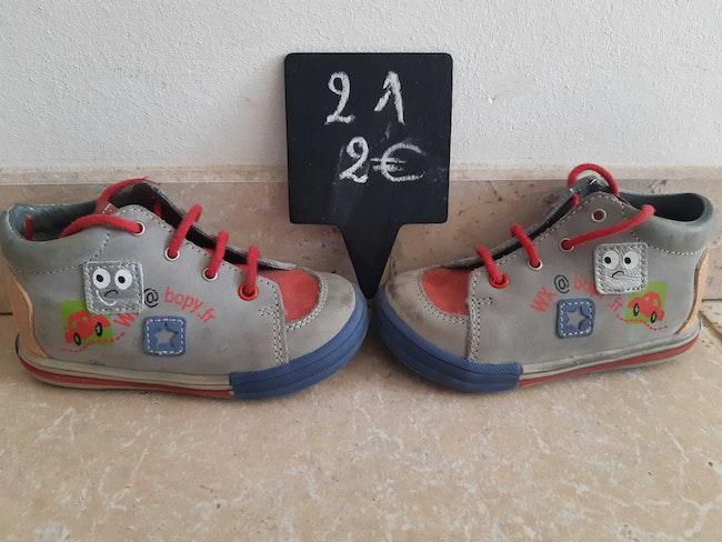 Chaussures cuir garçon