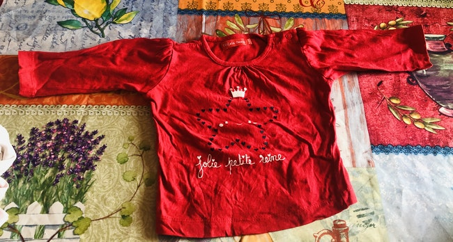Tee shirt 9 mois