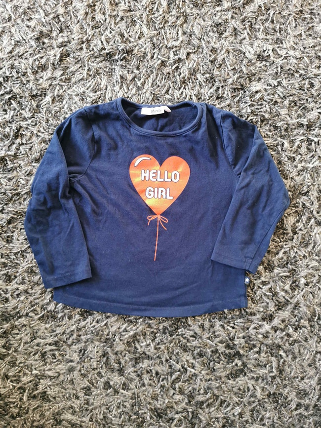 T-shirt manches longues Lili Marelle 5ans neuf