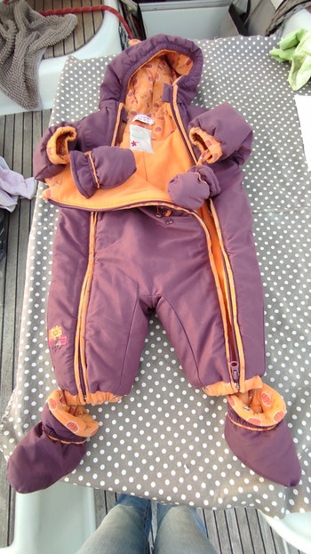 Combinaison ski fille 6 mois
