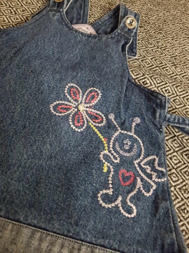 Robe en jeans taille 6 mois