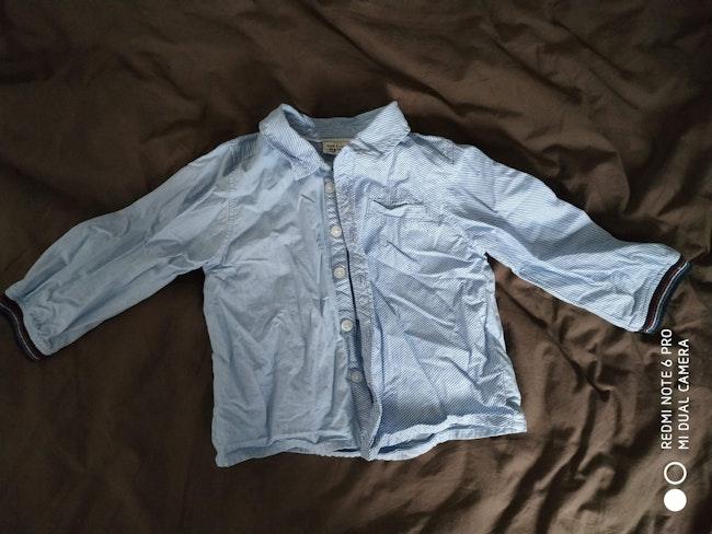 Chemise tape à l'oeil