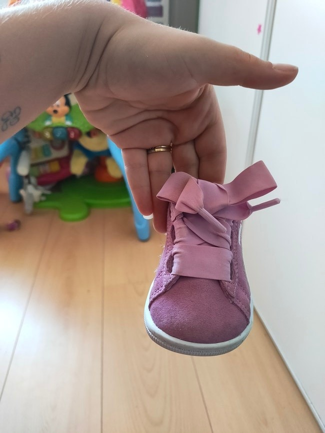 Chaussure fille puma rose 19