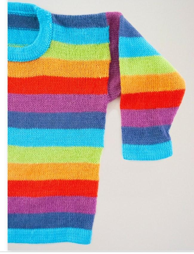 Pull multicolor / 4 ans