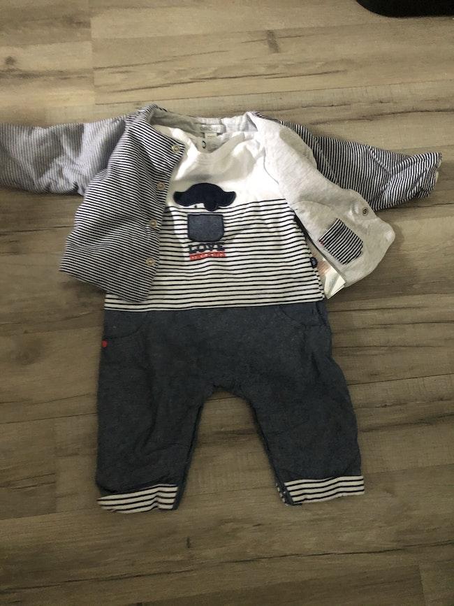 Ensemble bébé 3 mois
