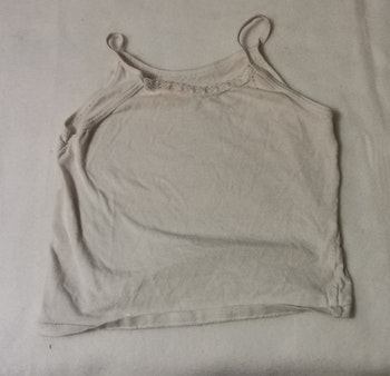 Debardeur/sous-vêtement 2 ans blanc