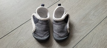 Chaussons bébé chaud Décathlon Domyos