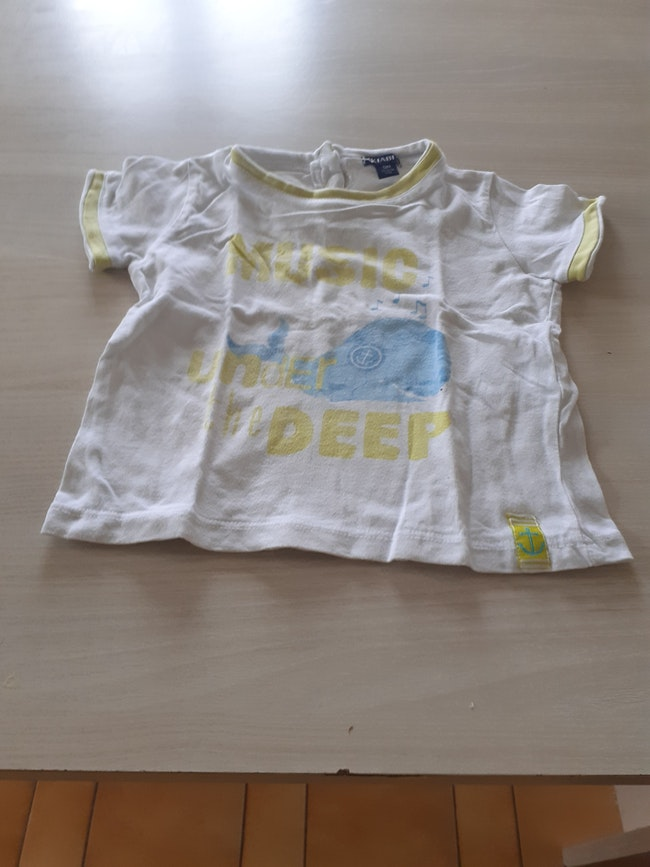 Lot  tee-shirt été  12 mois garçon