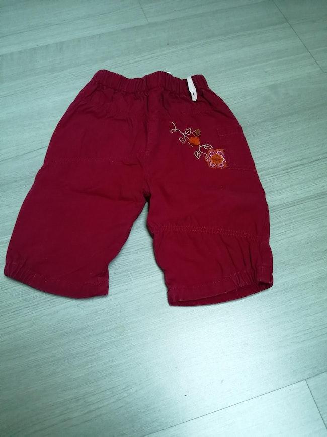 Pantalon fushia 6mois