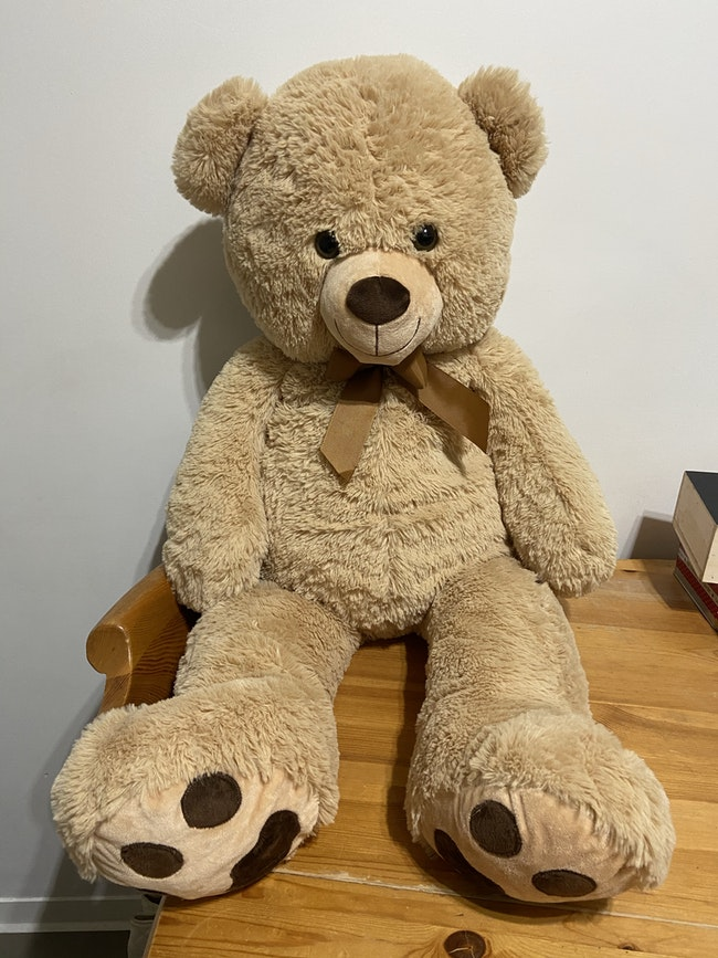 Peluche ours 100cm