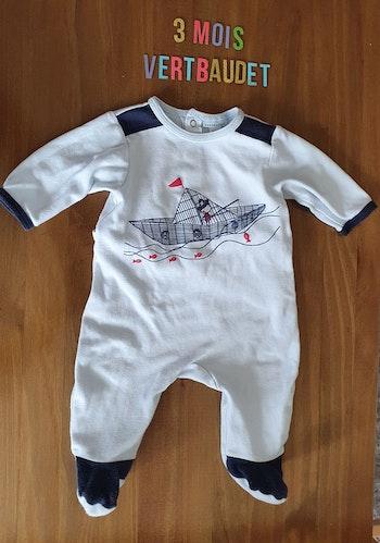 Pyjama Vertbaudet 3mois